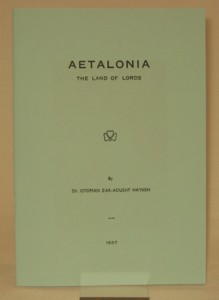 Aetalonia Land of the Lords 1937