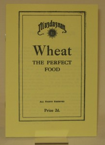 Wheat the perfect food 19xx