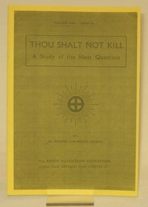 Thou shalt not kill 19xx