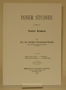 Inner Studies 1904 2nd edition - adhesive binding